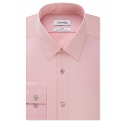 Calvin Klein - Herringbone Dress Shirt