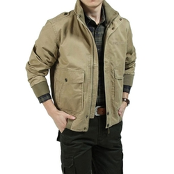 Ochenta - Bomber Military Jacket