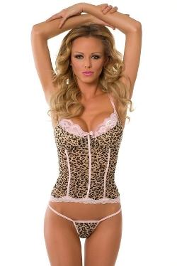 Velvet Kitten  - Leopard Camisoles