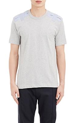 Comme Des Garçons  - Shoulder Patch T-Shirt