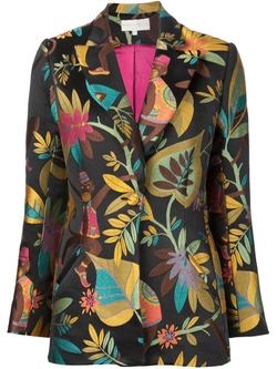 Christian Siriano   - Monkey Embroidered Blazer