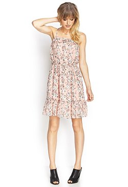 Forever21 - Ruffled Floral Cami Dress