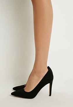 Forever21 - Pointed Faux Suede Pumps