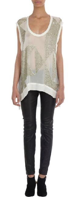 Iro - Sequin Embellished Sleeveless Top