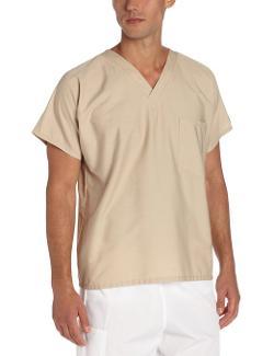 Scrub Zone  - Unisex V-Neck Scrub Shirt