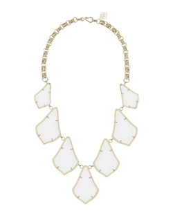 Kendra Scott  - Gold-Plated Kensey Cabochon Necklace