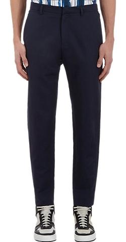 Kenzo - Twill Cropped Chino Pants