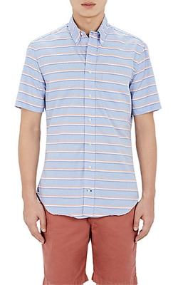 Gitman Vintage  - Striped Short-Sleeve Shirt