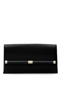 Diane Von Furstenberg - Envelope Embossed Lizard Clutch Bag
