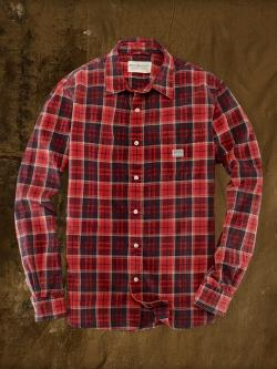 Denim & Supply   - Plaid Oxford Sport Shirt