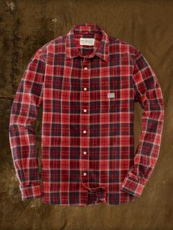 Denim & Supply   - Plaid Oxford Sport Shirt