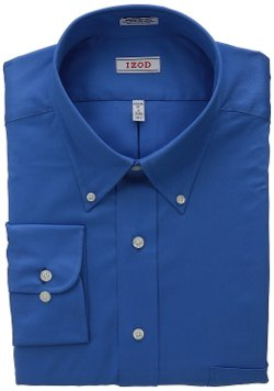 Izod - Wrinkle Free Button Down Dress Shirt