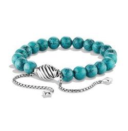 David Yurman - Spiritual Beads Bracelet w/ Chinese Turquoise