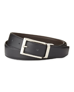 Ermenegildo Zegna - Shiny Reversible Belt