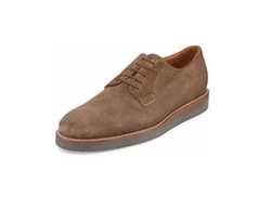 Vince - Dylan Suede Lace-Up Oxfords