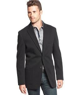 Alfani Red - Two-Button Slim-Fit Knit Sportcoat