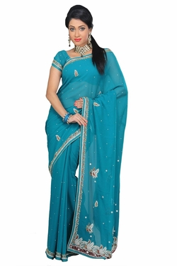 VinHem Fashion - Embellished Designer Saree