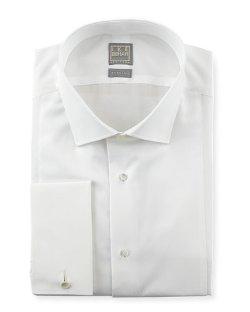 Ike Behar - Textured Bib Tuxedo Shirt