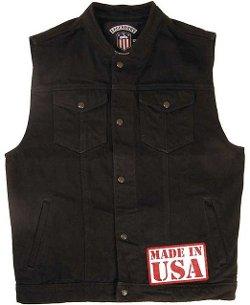 Legendary USA - Revolution Denim Motorcycle Vest