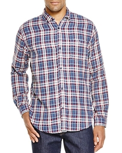 Velvet  - Abel Plaid Regular Fit Button Down Shirt