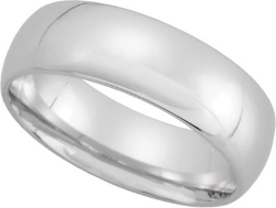 Jewelplus - Comfort Fit Light Wedding Band
