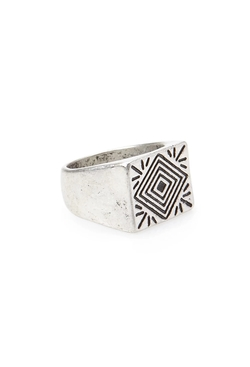 Forever21 - Etched Signet Ring
