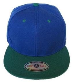 Altis Apparel - Premium Plain Two-Tone Flat Bill Snapback Hat