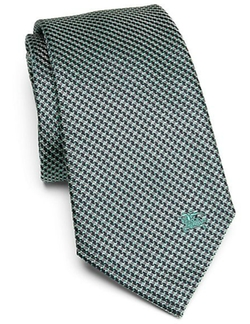 Burberry London - Textured Mulberry Silk Tie