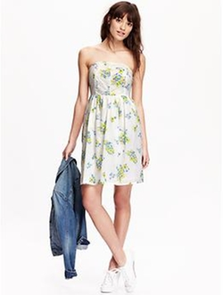 Old Navy - Printed Tube Dress