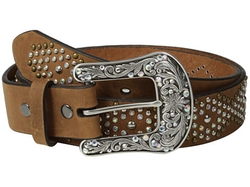 Ariat - Diamond Patterned Studded Belt
