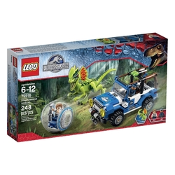 Lego - Jurassic World Dilophosaurus Ambush 75916 Building Kit
