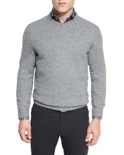 Ermenegildo Zegna - Seamless Yak Crewneck Sweater