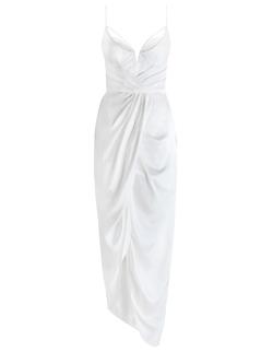 Zimmermann - Sueded Balconette Long Dress