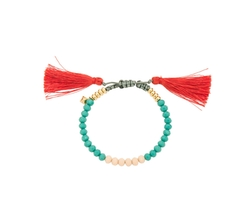 Rebecca Minkoff - Tropics Tassel Bracelet