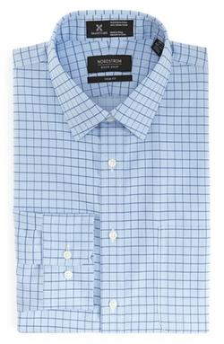 Nordstrom - SmartcareTrimFit CheckDress Shirt