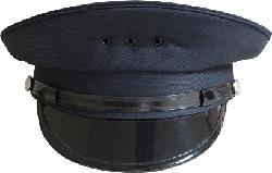 On guard apparel - Short bill 8 point duty cap size