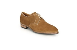 Corthay Sergio  - Suede Lace-Up Derby Oxfords