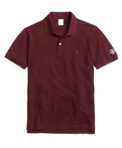 BROOK BROTHERS  - Texas A&M University Slim Fit Polo