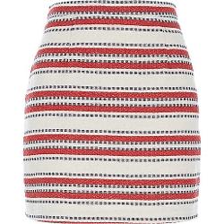 River Island - Stripe Woven A-Line Skirt