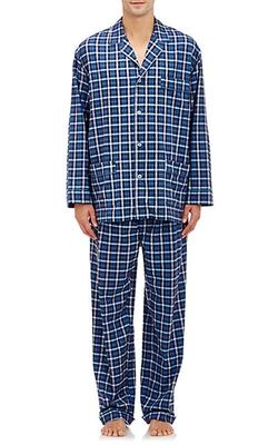 Barneys New York - Plaid Pajama Set
