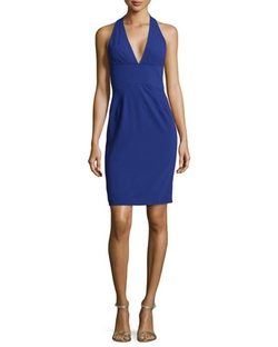 Zac Posen - Halter V-Neck Dress