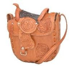 Western Express - Leather Saddle Bag