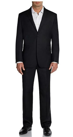 Yves Saint Laurent  - Regular-Fit Stripe Wool Two-Button Suit