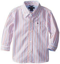 Tommy Hilfiger  - Long Sleeve Chris Stripe Shirt