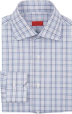 Isaia - Plaid Dress Shirt