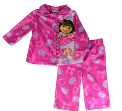 Nickelodeon - Dora The Explorer Heart Girls Pajamas