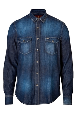 Seven For All Mankind - Cotton Denim Shirt