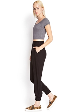 Forever 21 - Pleated Woven Harem Pants