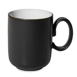 Denby Jet - Ounce Mug in Black/White