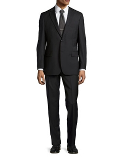 Hugo Boss - Solid Two-Piece Suit